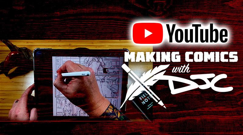 Making Comics Youtube Channel